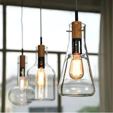 large wooden pendant light glass pendant light wood large big lamp clear led lamps hanging lights wooden dining room bulbs for living lamps in pendant