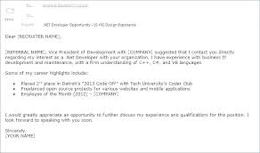 Emailed Cover Letters Sample Cover Letter To Send Resume In Email For Emailing Body And