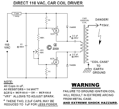 110 and 220 vac car ignition coil drivers the 110 vac schematic