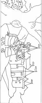 Adel Ridders Kastelen Kleurplaten