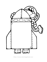 Small Picture Cartoon Spaceship Coloring PageSpaceshipPrintable Coloring Pages