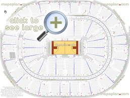 Smoothie King Center Concert Seating Chart Smoothie King Center Arena Seat Row Numbers Detailed