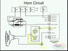 horns & wiring diagram youtube 208 Volt Lighting Wiring Diagram horns & wiring diagram