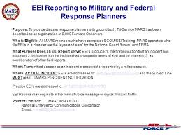 Air Force Mars Today Daily Area Region State Operations