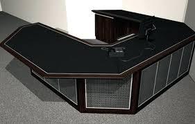 wrap around office desk. Wrap Desk Black Around Gift Prank Binteo Pertaining To Prepare Office P