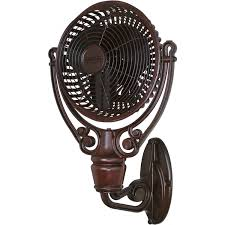 fanimation old havana outdoor wall mounted fan rust