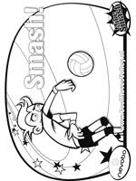 8 Kleurplaten Van Cool Moves Volley