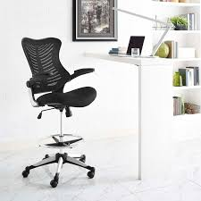 Distinctive Drafting And Design Charge Drafting Chair Contemporary Modern Furniture Modway