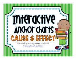 Interactive Anchor Charts Cause And Effect