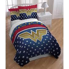 Wonder Woman Full Queen Bedding forter Set Walmart