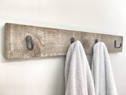 rustic wooden towel rack entryway walnut coat rack rustic wooden barnwood entryway rack coat rack rustic home decor rustic furniture
