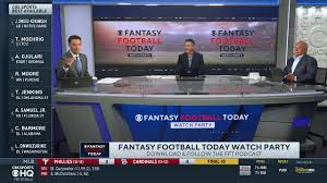 Fantasy Football Today Watch Party Day 1 | CBS Sports HQ - The Global Herald