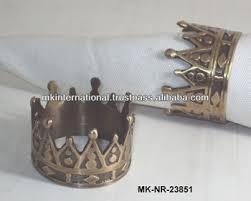 Brass <b>Crown Napkin Ring</b>, View <b>napkin rings</b> for <b>weddings</b>, MKI ...