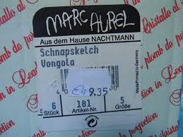 Marc Aurel Size Chart