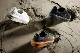 puma shoes for girls rihanna. puma and bad girl riri together has one of the most stylish looking shoes 2016   play your sport driving sports fitness lifestyle for girls rihanna e