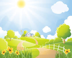 vector drawing nature scenery free