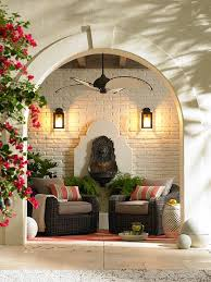 choose living room ceiling lighting. Outdoor Lighting Blends In With Furniture Pieces And A Ceiling Fan. Choose Living Room