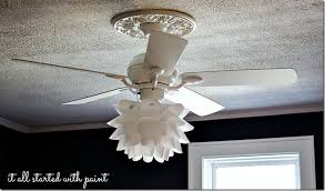 ceiling fan light fixtures ditch is the big round white globe lamp cover on the ceiling
