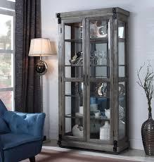 rustic curio cabinet.  Rustic Intended Rustic Curio Cabinet