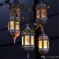 metal hollow candle holder glass hanging candle lantern tea light holder moroccan candlestick hanging lantern wedding decor candle holder candle holder