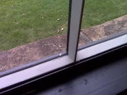 broken window pane window glazing