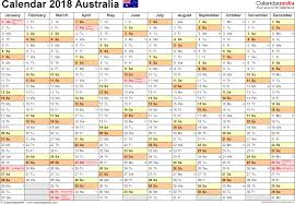 windows printable calendar 2018 australia calendar 2018 free word calendar templates