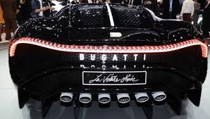 It's the most expensive new car in the world with a price tag of about $18.9 million. Bugatti The Black Cristiano Ronaldo Car S