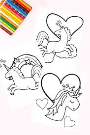 Free Unicorn Coloring Book Pages So Cute Fun Thrifty Mom