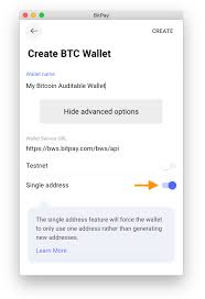 A vanity address can start with a string of letters and numbers that is publicly available or else can start with a customized set of letters and numbers. Setting Up The Single Address Feature For Your Bitpay Wallet Bitpay Support