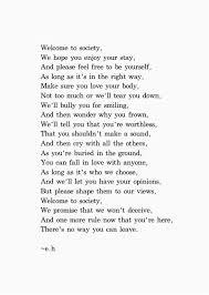 Beautiful Poem Quotes Best of If You Cannot Be A Poet Be The Poem Welcome To Society