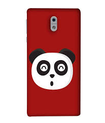 Cool Panda Designs Nokia 3 Back Cover Cool Panda Icon Design From Fuson Amazon