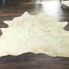 faux cowhide rug 8x10