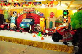 Cars Party Decorations 1st Birthday Party Decorations Hyderabad Kids 1st Birthday Party