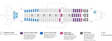Airbus A310 Seating Chart Air Transat Airbus A310 300 Air Transat