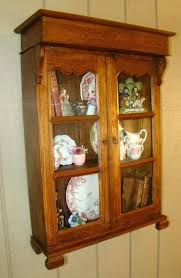 vintage wall cabinet antique wall cabinets for images vintage wall cabinet with glass doors