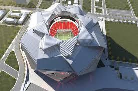 Yok böyle stadyum, uzay mekiği gibi!