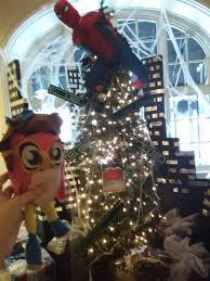 Spiderman Christmas Lights Tiffany Fisher Artist