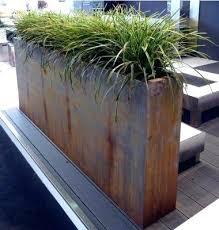 metal garden boxes metal garden planter steel planters planter on the deck outdoor pertaining to boxes metal garden