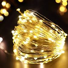 lighting for home decoration. BRIGHT ZEAL 33\u0027 Long Warm White LED Battery STRING LIGHTS (Silvery Wire, 100 LEDs, BATTERY Operated \u0026 Included, TIMER)-Plug In DIY String Lights Fairy Lighting For Home Decoration I