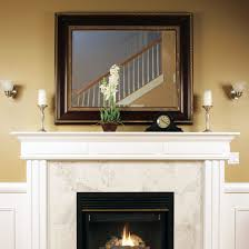 mirror over fireplace. convex mirror black large roma hanging above a fireplace image · the over