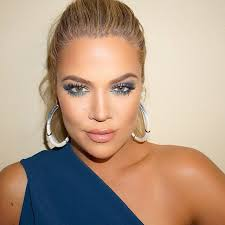 blue and beautiful khloekardashian in armenia today hair jenatkinhair makeupbymario smokey eye makeupblue