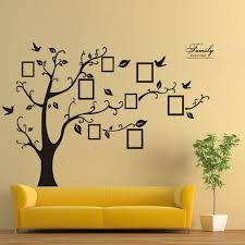 Wall Decor Stickers For Living Room Kitmax Tm Removable Personalized Family Tree Photo Frame Nursery