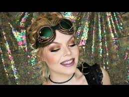 easy steunk makeup tutorial requested look