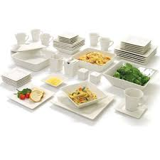 strawberry street nova square banquet piece dinnerware set