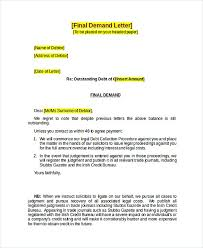 debt collector cover letter - Template