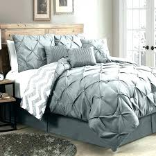 jersey knit ruffle twin xl comforter set in light grey gray comforters spread sheets sets queen