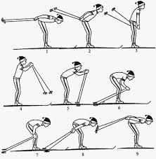 бесшажный ход методика обучения  Одновременный бесшажный ход методика обучения