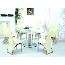 round glass dining table for 6 dining tables round glass dining table with chairs room sets