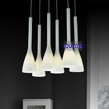 italian pendant lighting. Italian Magnolia Flower Hanging Lamps Modern Glass Pendant Lights Fixture European Home Indoor Dining Room Lighting 6 Lamps-in From T