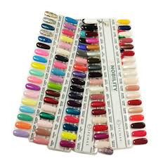 Lechat Nobility Gel Color Chart 144 Display